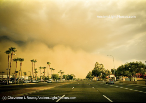 Cheyenne L Rouse | Haboob moving into Chandler