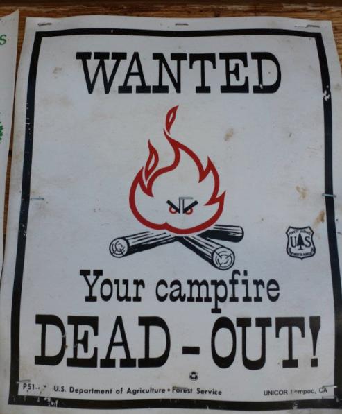 Campfire warning