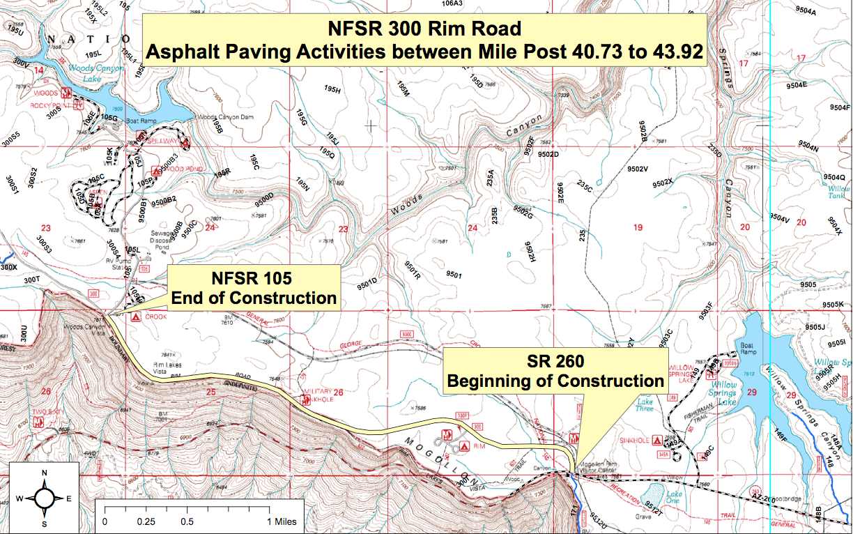 Forest Service Road 300 Undergoes Repaving | Arizona Highways