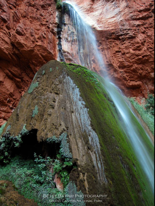 Betsy Batish | Ribbon Falls