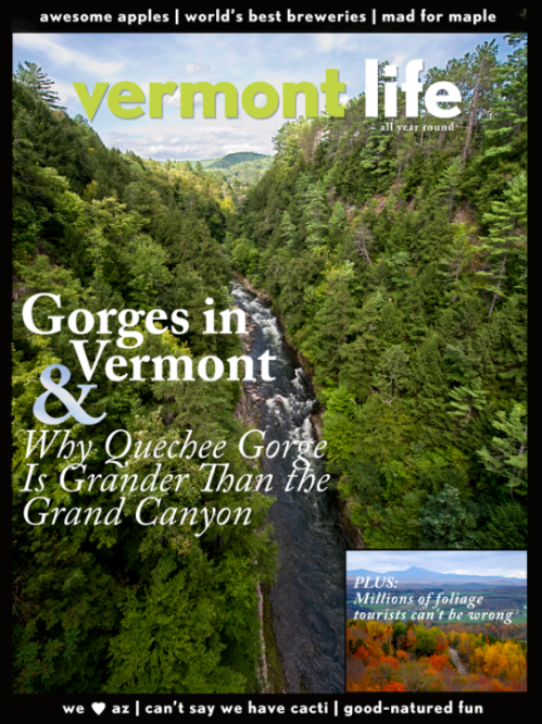 Fun Vermont Life Mock Up