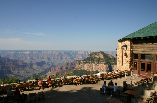 The Grand Canyon Lodge - North Rim
