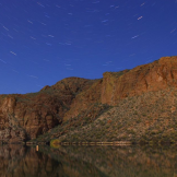 Laura Bavetz | Canyon Lake Star Trails