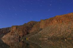Laura Bavetz   Canyon Lake Star Trails