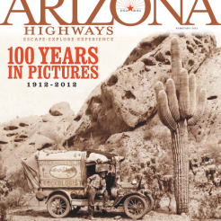 """Gold, Special Focus Issue, """"Arizona Highways Centennial Issue"""" (February 2012)"""