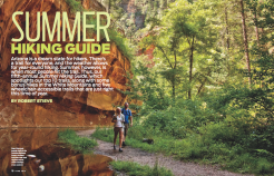 "Gold, Reader Service Article, ""Summer Hiking Guide,"" by Robert Stieve (June 2012)"