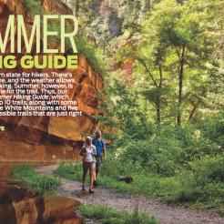 "Gold, Reader Service Article, ""Summer Hiking Guide,"" by Robert Stieve (June 2012)"