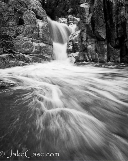 Jake Case   Camp Creek Falls