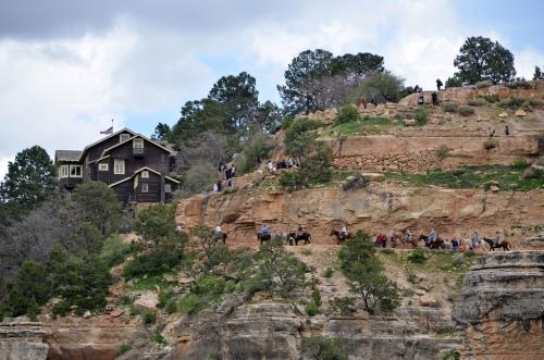 Kolb Studio and Bright Angel Trailhead, Grand Canyon | Courtesy of Grand Canyon National Park