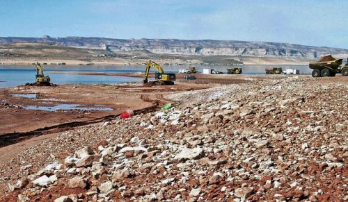 Castle Rock Cut excavation on Lake Powell, 2013 | Courtesy of National Park Service