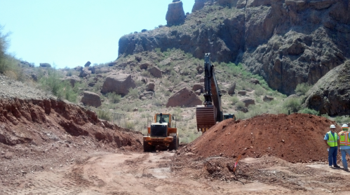 Echo Canyon construction