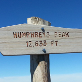 Ray Minnick   Humphreys Peak