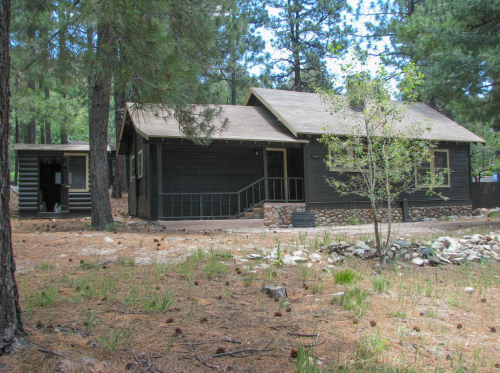 The Palisades Ranger Residence Cabin