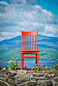 """Red"" at Blair Hill Inn, Greenville, Maine"