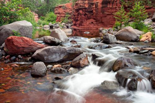 Oak Creek Canyon, by Derek von Briesen