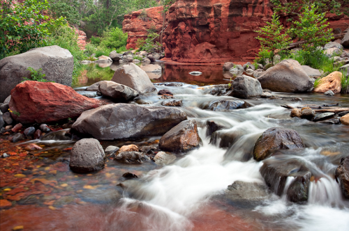 Oak Creek Canyon, by Derek von Briesen