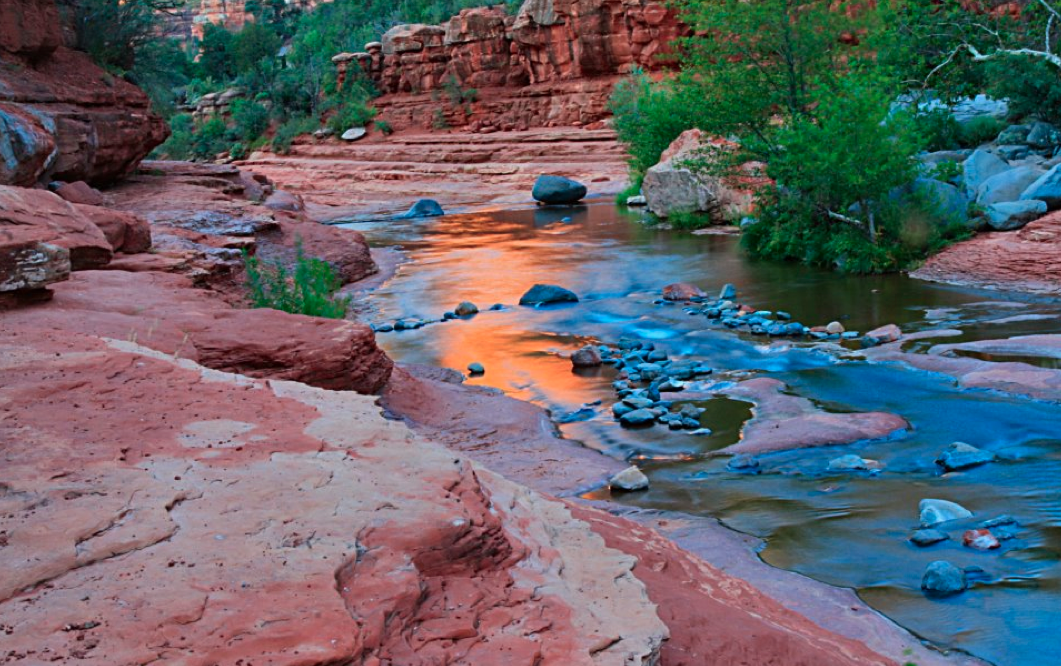 Slide rock named one of america s 10 best state parks for Cabine vicino a slide rock sedona